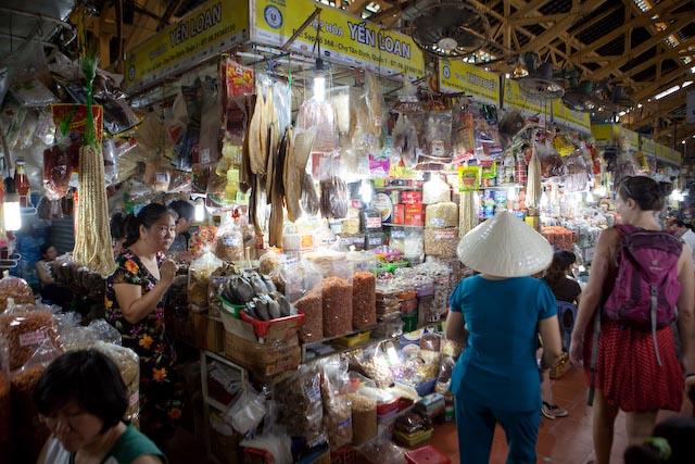 Market, Ho Chi Minh, Vietnam